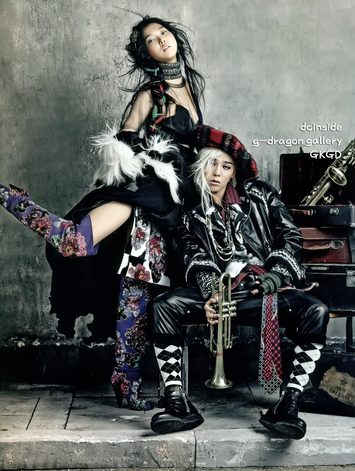 G Dragon 2013 Photoshoot G-Dragon dla Vogue Kor...
